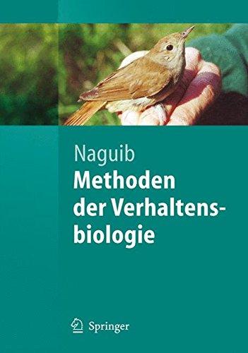 Methoden der Verhaltensbiologie (Springer-Lehrbuch) (German Edition)