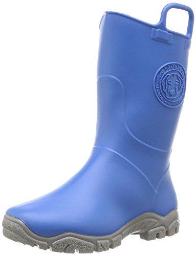 Boatilus Ducky, Bottes de pluie mixte enfant - Bleu (Bleu Cobalt Bubble Gum/Gris), 26-27 EU (8.5 UK)