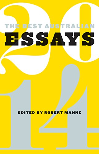 The Best Australian Essays 2014 (English Edition)