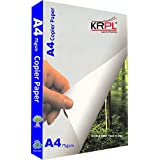 KR TREE FREE A4 Paper Pack Of 5 Reams White. Made From Cane. Suitable For Any Job On Office Printer, Inkjet And Laserjet