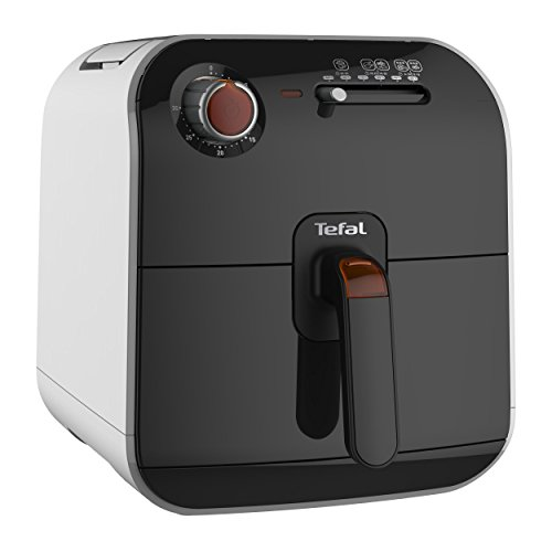 Tefal FX1000 Fry Delight-Freidora sin Aceite (1400 W, 4 Modos de cocción, Temporizador 30 min, 800 Gramos), Negro, Blanco