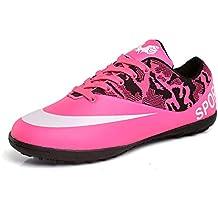 finest selection bfce1 f7722 Willsky Botas de fútbol para Hombre, Zapatos de Entrenamiento de fútbol para  niños Bajo Ayuda