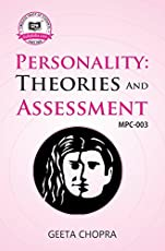 MPC3 Personality Theories and Assessment (IGNOU Help book for MPC-003 in English Medium)