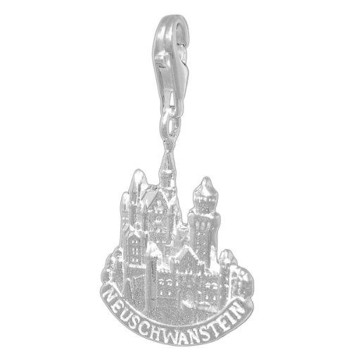 Melina Damen-Charm Anhänger Schloss Neuschwanstein 925 Sterling Silber 1800799 -
