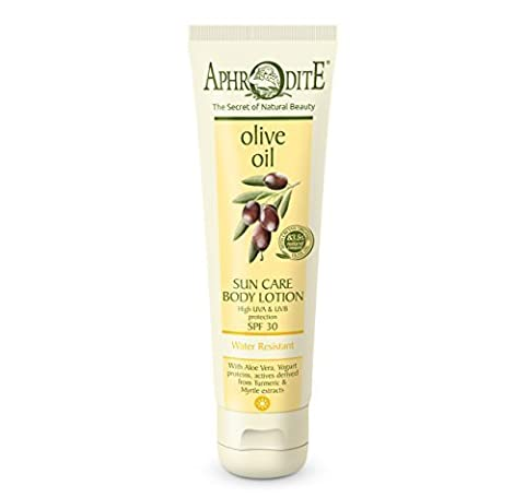 Aphrodite Olive Oil Sun Care Body Lotion SPF 30 150ml