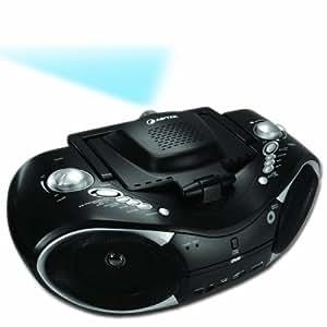aiptek mobile cinema d20 video projecteur portable lecteur dvd int gr 20 lumens 4 3 noir. Black Bedroom Furniture Sets. Home Design Ideas