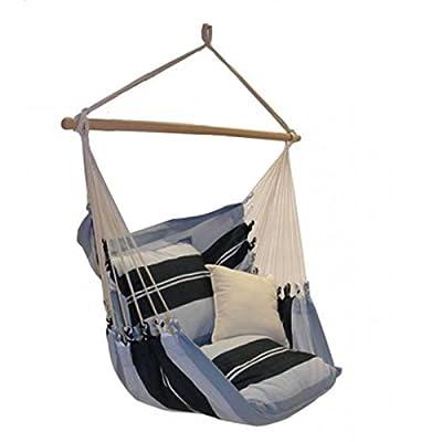 Lola XL PREMIUM Hängesessel Brasil Sofa, bis 150 kg belastbar, 110 cm Spreizstab von Lola Hängematten bei Gartenmöbel von Du und Dein Garten
