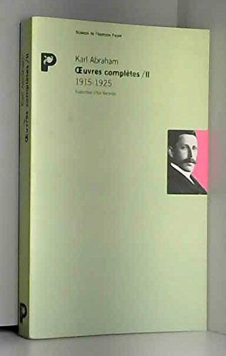 Oeuvres complètes, tome 2 : 1915-1925