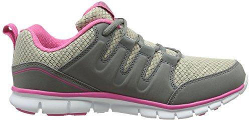 Gola Termas 2, Scarpe da Corsa Donna, Black Grey (grey/pink)