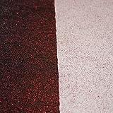 1kg (Grundpreis 17,90€/kg) Glitter Effektwandfarbe (Rot), Glitterfarbe Wand, Wandfarbe, Tapete, Farben