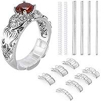 Ajustador invisible del tamaño del anillo para los anillos flojos - anillo protector, anillo clasificador
