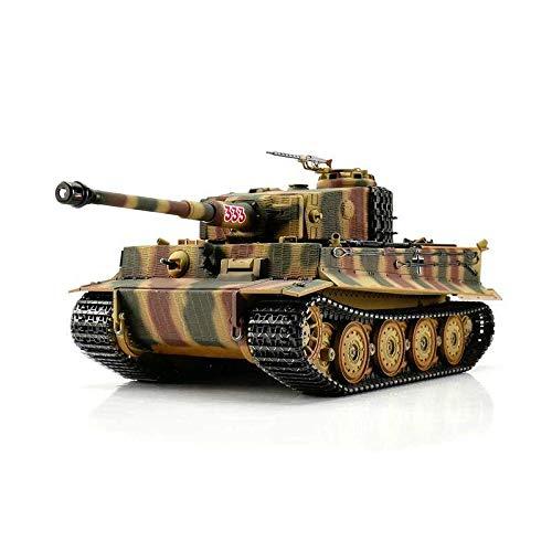 TORRO 3818-D1 - Tiger I. Späte Ausführung Metall Profi-Edition BB Version Panzer Tarn, Ferngesteuerte Modelle und Zubehör (Bb-tank Rc)