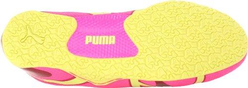 Puma Anaida pizzo di metallo Slip-on Danza Sneaker (Fluro Pink)