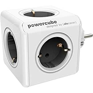 Allocacoc PowerCube White/Black