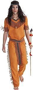 Rubies- Disfraz indio sioux adultos, Talla única (Rubie