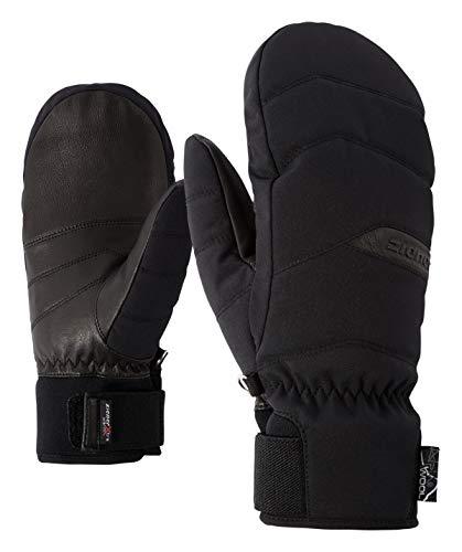 Ziener Damen KOMILLA AS(R) AW MITTEN lady glove Ski-handschuhe/Wintersport | Wasserdicht, Atmungsaktiv, black, 7