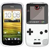 Etui de créateur pour HTC One S - Etui / Coque / Housse de protection en TPU/gel/silicone avec motif cool gameboy couleur