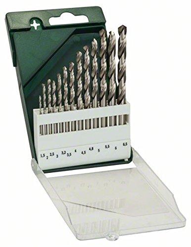 Bosch 13tlg. Metallbohrer-Set HSS-G geschliffen