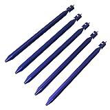 10T - PEG IT 5YP-23EA, Set di picchetti, 23 cm, colore: Blu