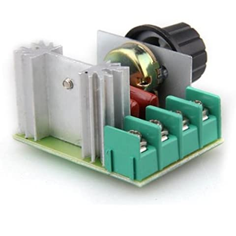 Voltage Regulator - SODIAL(R)High power 2000W SCR Voltage Regulator Dimmers