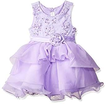 d8c6d087e6c15b Si Rosa by Hopscotch Baby Girls  Cotton Cute Applique Sleeveless ...
