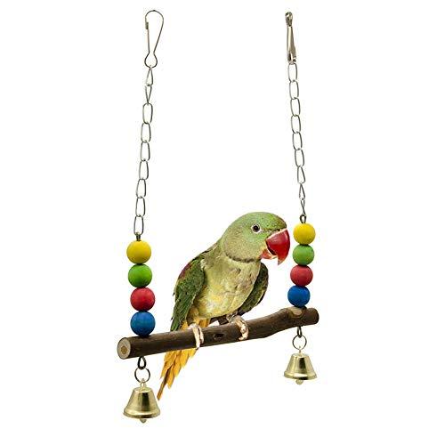 Papagei Schaukel Mimiga 1 Stücke Bunte Schaukel Vogel Papagei Seil Harness Hängematte Hängen Spielzeug Pet Papagei Unterhaltung Spielzeug -