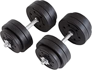 Ultrasport Haltère Noir 30 kg