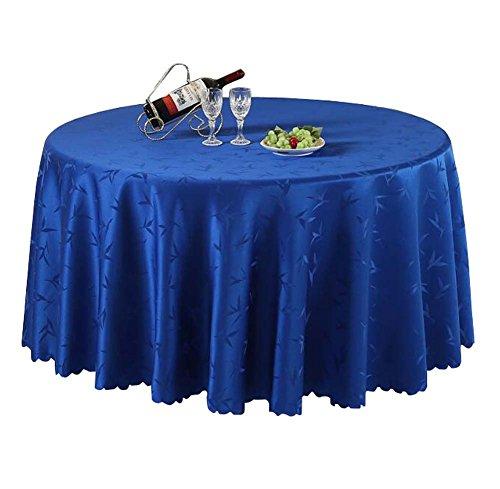 Elegant Hotel Round Tablecloths Restaurant / Accueil / Mariage-Bleu foncé