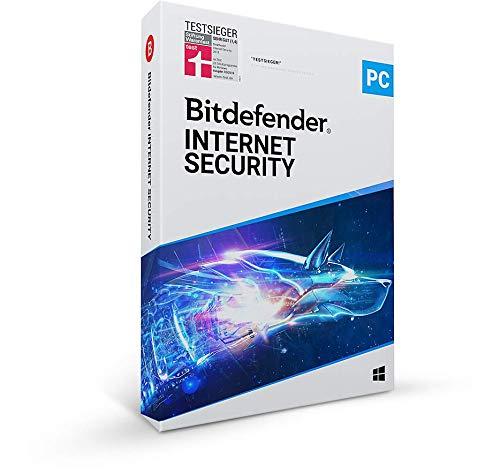 Bitdefender Internet Security - 1 Gerät | 1 Jahr Abonnement | PC Aktivierungscode per Post