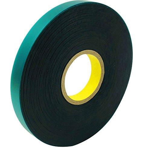 50Füße X 1/5,1cm Stretch-Band, Tape Band Garden Green Vinyl Dem Spiel ()