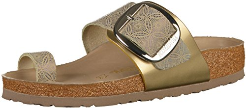Birkenstock Miramar Big Buckle Femmes Mule Ceramic Pattern Blue