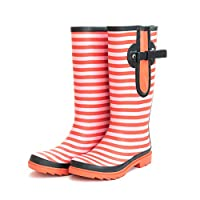 Extra Wide Calf Wellington Boots for Ladies/Women - Fit up to 52cm Calf - Wide to The Calf snug to The Foot and Ankle