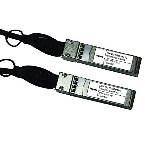C2G MSA und TAA-konform 10GBase-CU TVS-+ zu Alico Twinax Direct Attach Kabel (SFP-10G-PDAC3M-LEG) -