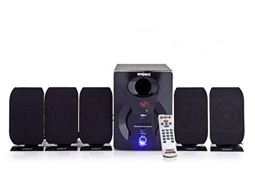 Envent ACE - 5.1 Multimedia Home Audio Speaker (Black)