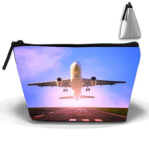 Bolsas de artículos de tocador multicolores de viaje Bolsas de maquillaje Organizador de lavado - Despegue del avión