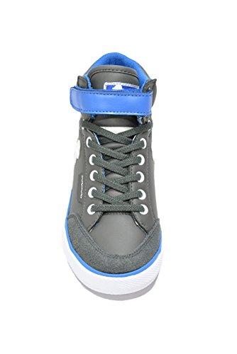 Drunknmunky Sneakers scarpe bambino grigio BOSTON CLASSIC 145 Grigio