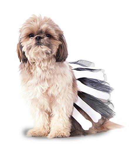 Rubies Costume Knochen Tutu Hund Kostüm