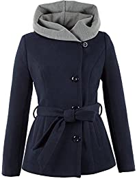 Suchergebnis Auf Amazonde Für Kurzmantel Tailliert Wolle Damen