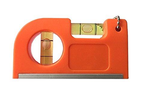 Mini Taschen Wasserwaage Pocket Größe 8,5 cm x 4,5 cm, Stark Magnetisch