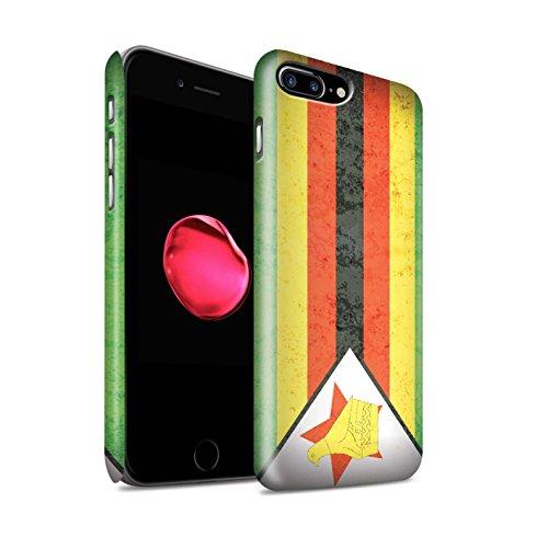 Clipser Matte Coque de Stuff4 / Coque pour Apple iPhone 6 / Tunisie/Tunisien Design / Drapeau Africain Collection Zimbabwe/Zimbabwéen