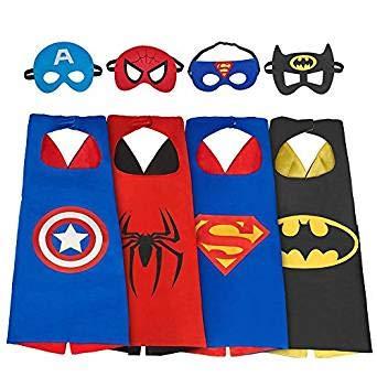 Hiveseen Superheld Umhänge Superhero Capes und Masken für -
