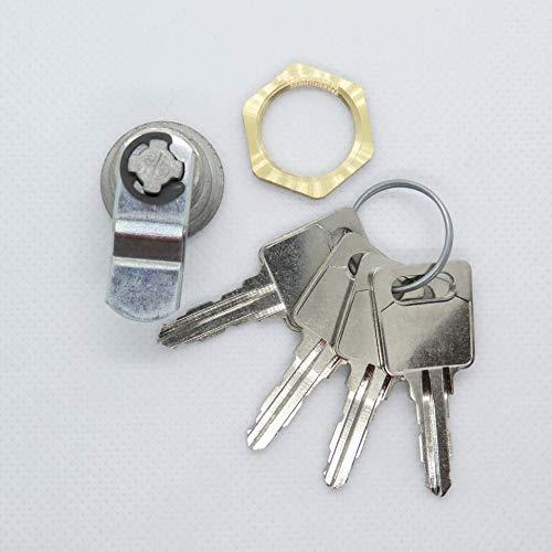 Briefkastenschloss passend für JU Briefkästen mit 4 Schlüssel - 3