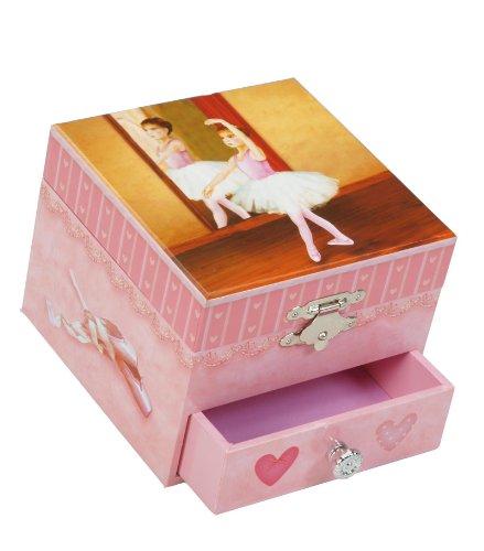 Spieluhrenwelt Kinder-Schmuckdose Ballerina Spielt die Melodie Für Elise 22107