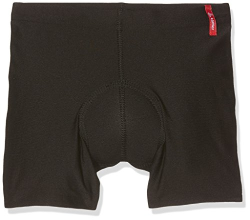 LÖFFLER Kinder KI. Radunterhose Elastic Unterhose, Schwarz, 164