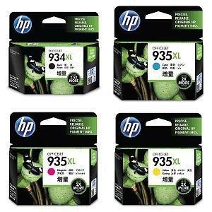 HP 934 XL/935 XL - Cartucho de tinta para impresoras HP