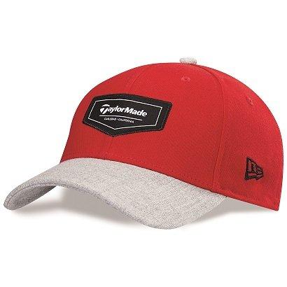TaylorMade Golf 2015Pipeline 39thirty Drap-housse Veste de Golf Casquette/chapeau Red/Grey Heather S/M