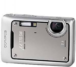 "Olympus Mju 770 SW Digital Compact Camera - Titanium Grey (7.1MP, 3x Optical Zoom) 2.5"" LCD"