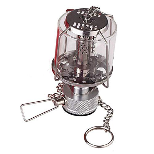 wwwl Camping Licht Mini Camping Laterne Gas Licht Tragbare Zelt Glas Lampe Butan Licht -