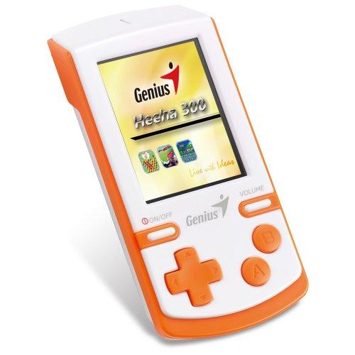 'Genius-Heeha 300Notebook Spielkonsolen (Heeha 300, 64MB, Orange, Weiß, LCD, 6,35cm (2.5), 16 - 64 Mb Notebook