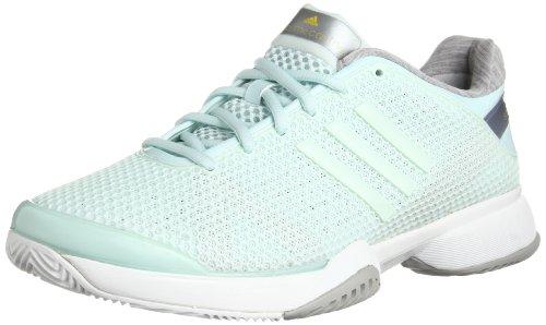 Adidas By Stella Mccartney Barricade-Scarpe da Tennis da donna, Verde, 43 1/3 Verde